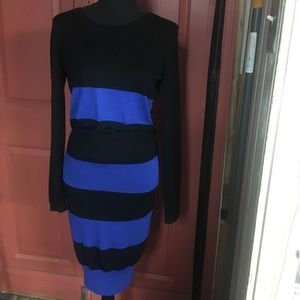 2pc Knit Crop Top and Skirt